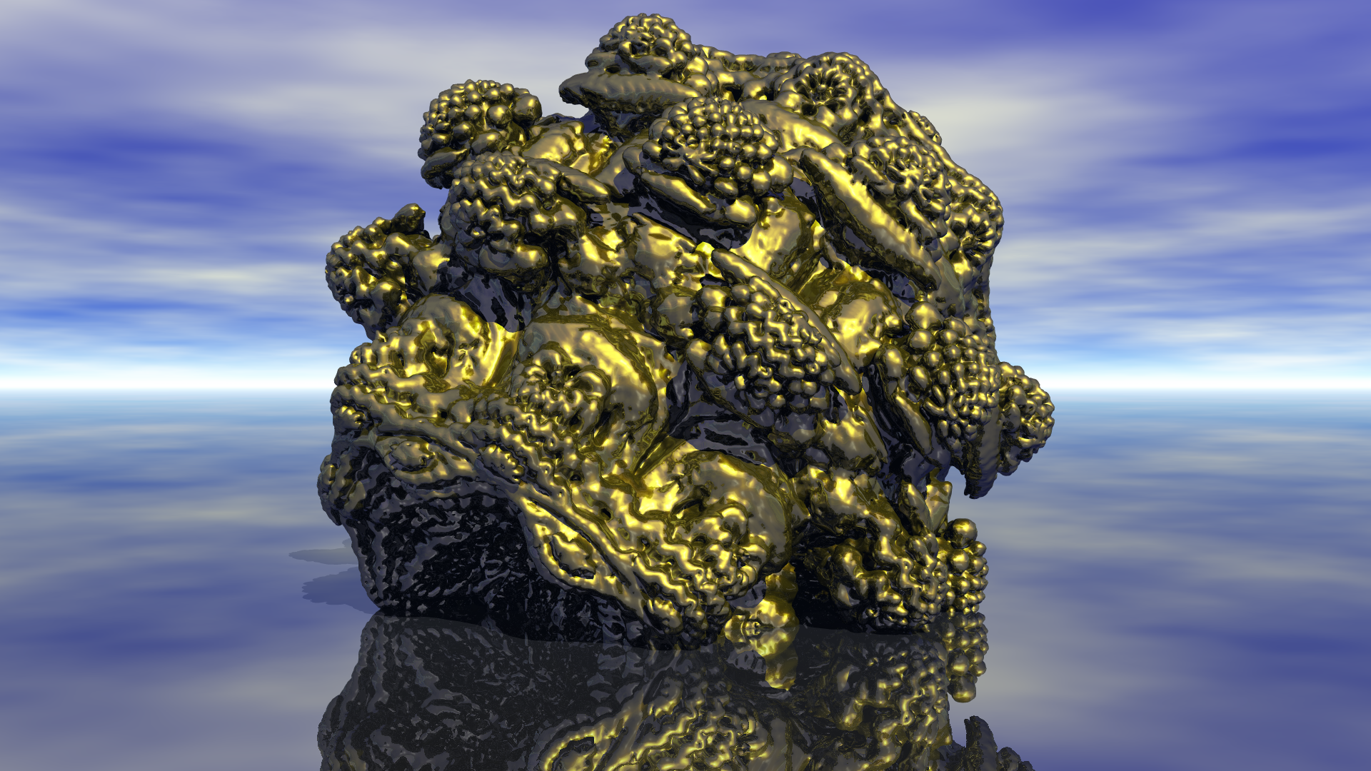 MB3D Mesh Export Bryce Test