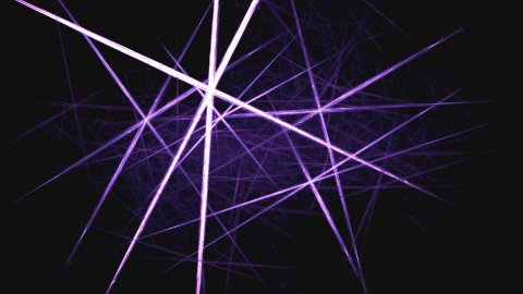 Laser dance violet